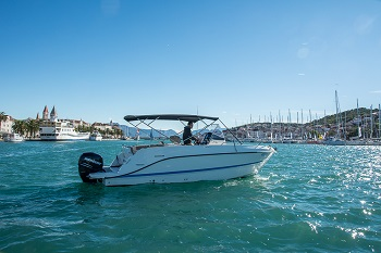 Quicksilver Activ 805 rental Split and Trogir