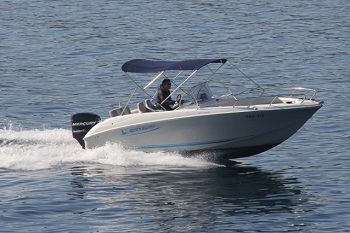 quicksilver commander 600 rental in trogir
